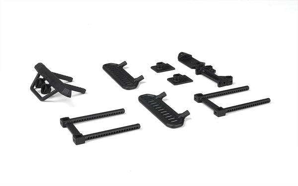 MSA-1E Bumpers, Rock Sliders & Body Mount Set