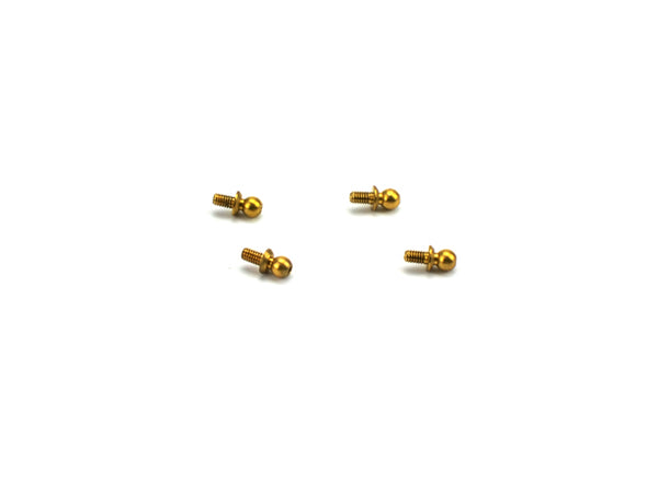 MSA-1E 3.9 x3.95mm Ball Stud Set (x4)
