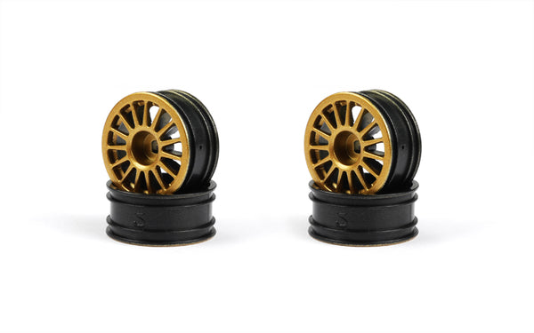 GT24 Subaru WRC Gold Wheel Set (x4)