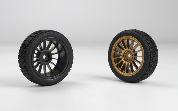 M40 S Gold Rally Pre-glued Wheels & Tyres