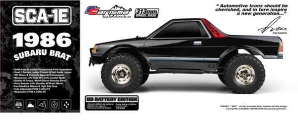SCA-1E Subaru Brat RTR (No Battery Edition)