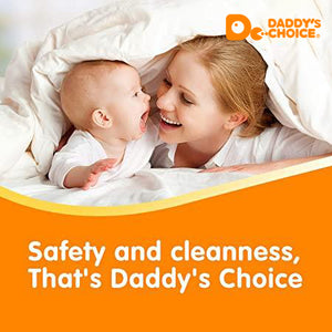 Daddy's Choice Disposable Baby Diapers, Size NB/1/2/3/4, Free shipping to US and CA