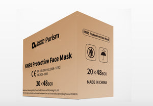 KN95 Protective Face Mask 20 PCS, Free shipping to US and Canada.
