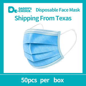 Branded 3-layer mask, 50pcs/box Personal protection, Disposable Face Mask