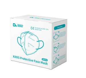 KN95 Protective Face Mask 100/200/300pcs, Free shipping to US and Canada