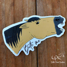 Load image into Gallery viewer, Bite Me Horse Sticker