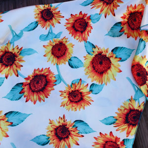 "36"" Sunflower Wild Rag"