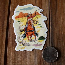 Load image into Gallery viewer, Vintage Cowboy Sticker