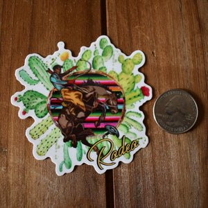 Cactus Rodeo Sticker