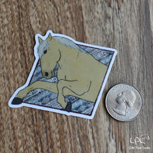 Load image into Gallery viewer, Aztec Rearing Horse Sticker