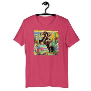 Pinup Cowgirl Unisex T-Shirt
