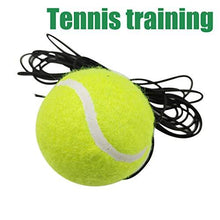 Load image into Gallery viewer, FINA Trainer Rebound Ball with Rope - Wool Elastic Rope and Rubber Ball Tennis Equipment Practice Training Device for Adults and Kids