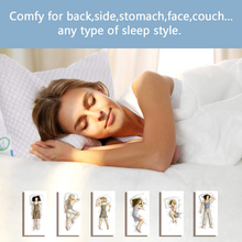 Load image into Gallery viewer, Shredded Memory Foam Bed Pillows for Sleeping(Size:King)