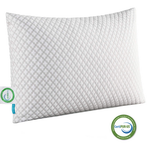 Shredded Memory Foam Bed Pillows for Sleeping(Size:King)