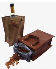 Load image into Gallery viewer, leather gift bags