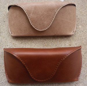 silas leather eyeglass case
