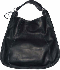 silas leather hobo