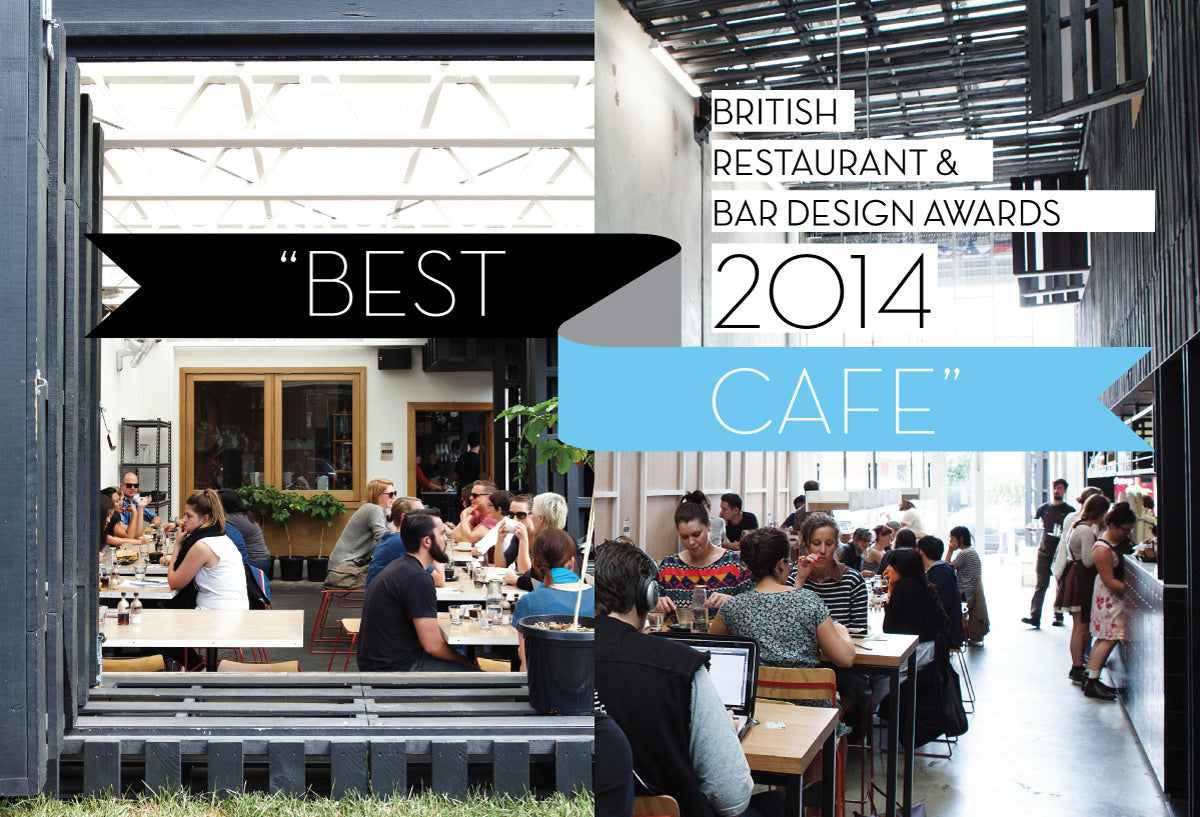 Industry Beans wins Best Cafe British Restaurant & Bar Design Awards