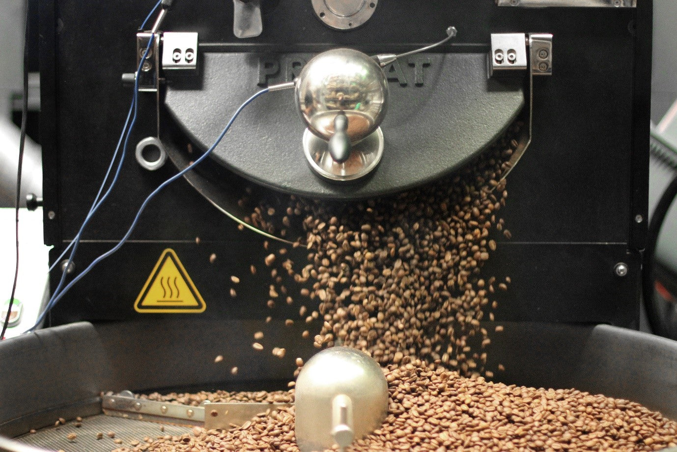 Industry Beans Roasting