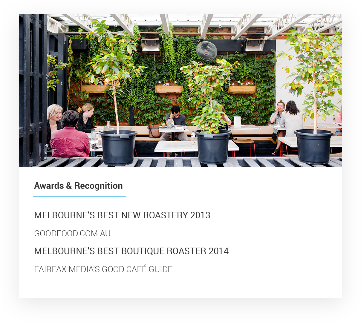 Industry Beans Fitzroy Wholesale Specialty Coffee Supply