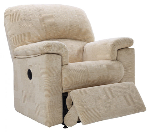 G Plan Chloe Fabric Small Recliner Armchair