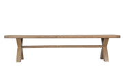 Litchfield 2m Cross Leg Dining Bench