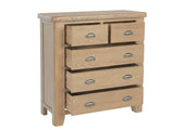 Litchfield Wooden 2 Over 3 Chest Of Drawers