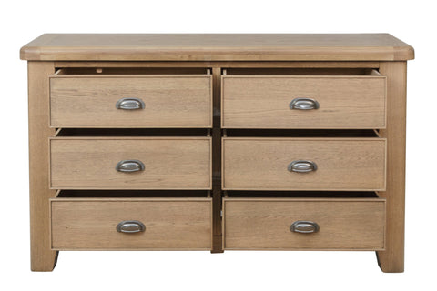 Litchfield Wooden 6 Drawer Chest Of Drawers