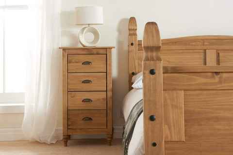 Pembroke 4 Drawer Narrow Chest Of Drawers