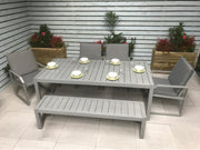 Alarna Bench Dining Set