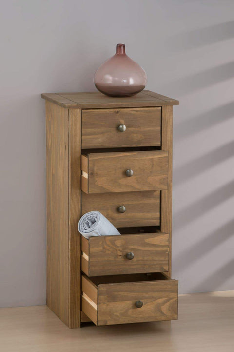 Santiago 5 Drawer Chest Of Drawers