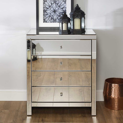 Seville 4 Drawer Chest Of Drawers