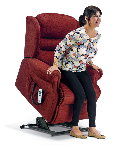 Sherborne Ashford Fabric Electric Lift & Rise Recliner Chair