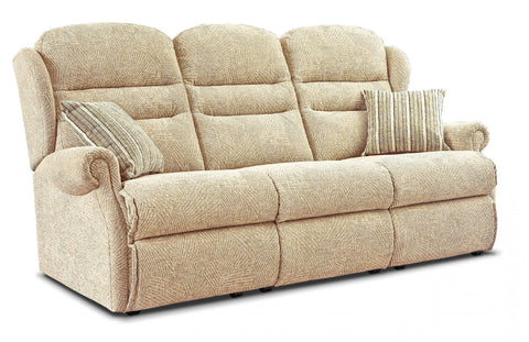 Sherborne Ashford Fabric Fixed 3 Seater