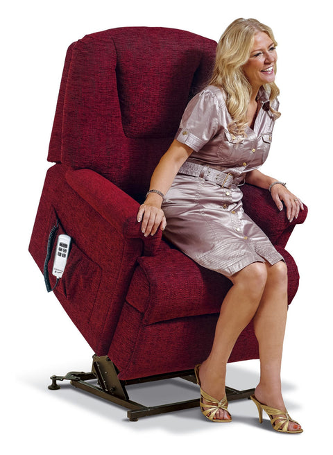 Sherborne Milburn Fabric Electric Lift & Rise Chair