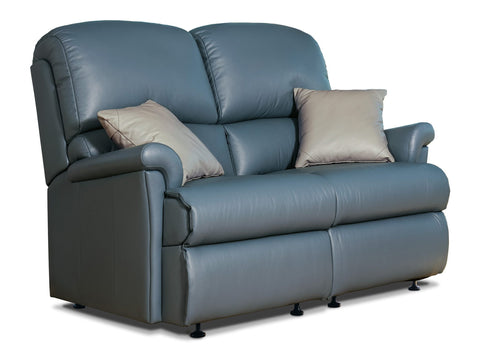 Sherborne Nevada Fixed Leather 2 Seat Sofa
