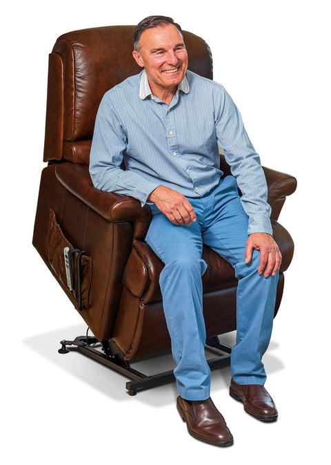 Sherborne Nevada Leather Electric Lift & Rise Recliner
