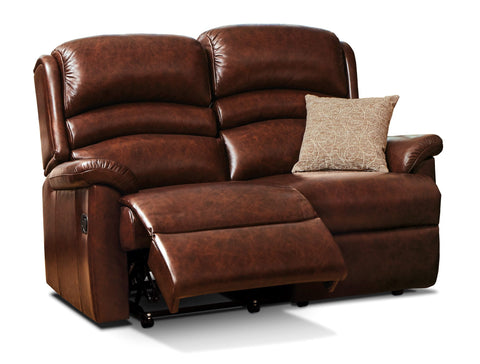 Sherborne Olivia Leather 2 Seat Recliner Sofa