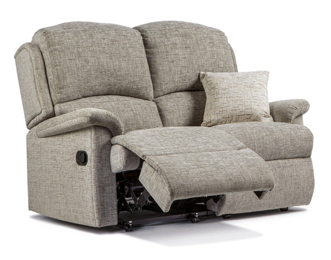 Sherborne Virginia Fabric 2 Seat Recliner Sofa