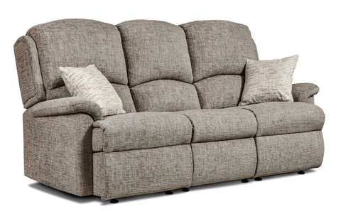 Sherborne Virginia Fabric Fixed 3 Seater Sofa