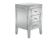 Valencia 3 Drawer Bedside Table