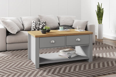 Winchester 2 Drawer Coffee Table