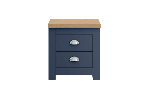 Winchester 2 Drawer Bedside Table