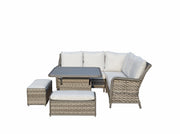 Mia Corner Dining Sofa with Lift Table