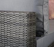 Savannah Corner Sofa in 8mm Flat Grey Weave