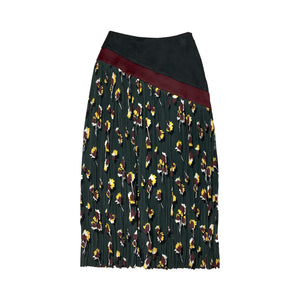 [PRE-ORDER] Printed Pleated Skirt BLOOMS