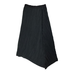 [PRE-ORDER] Pleated Suede Skirt BLACK