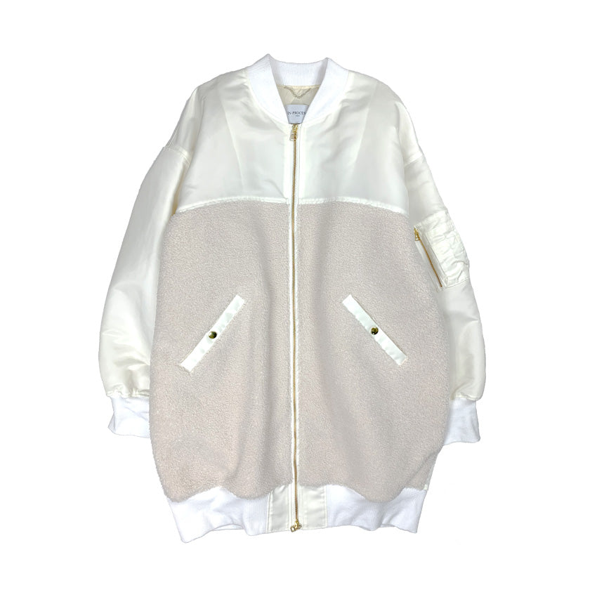 [PRE-ORDER] Cocoon MA-1 Jacket WHITE