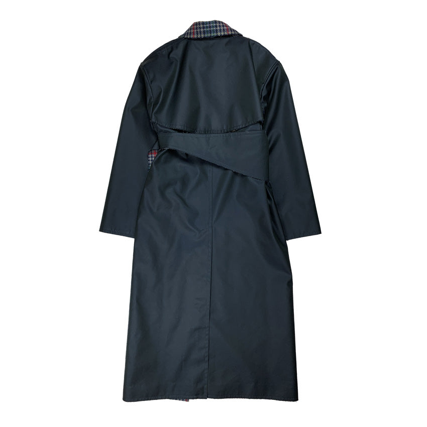 [PRE-ORDER] Corseted Trench Coat NAVY