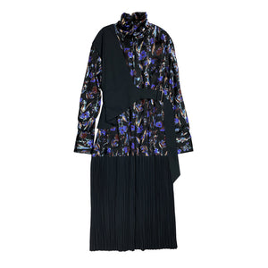 [PRE-ORDER] Haku Printed Pleated Dress FLORAL